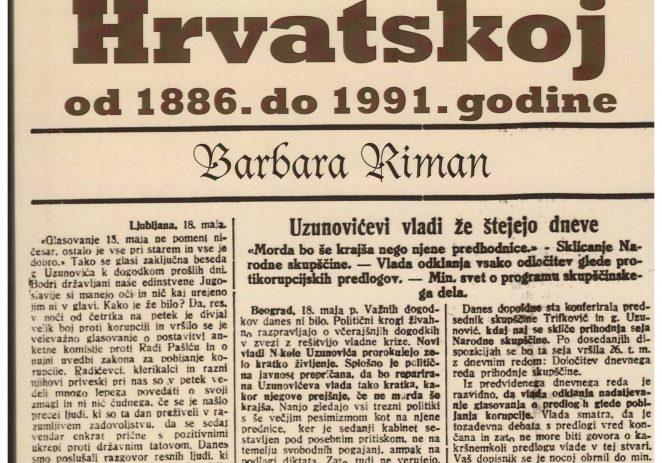 """Promocija knjige """"Slovenska društva u Hrvatskoj od 1886. do 1991.g."""" ovog petka u Gradskoj knjižnici Poreč"""