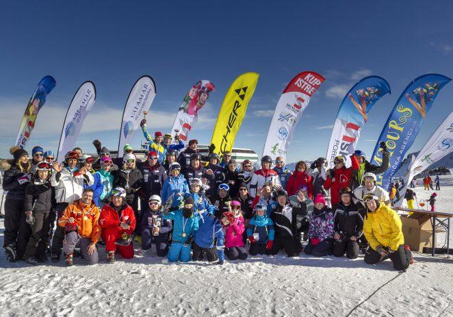 I ove godine fešta za istarske skijaše na Ravasclettu – 12. OTVORENO PRVENSTVO U VELESLALOMU ZA KUP ISTRE 15. veljače