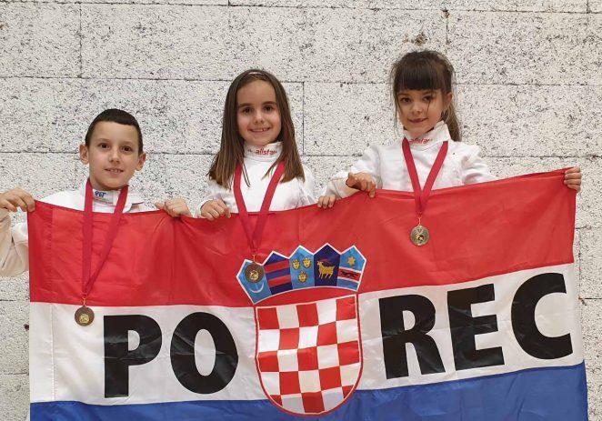 Vratile se mlade nade mačevanja iz Zagreba – s medaljama