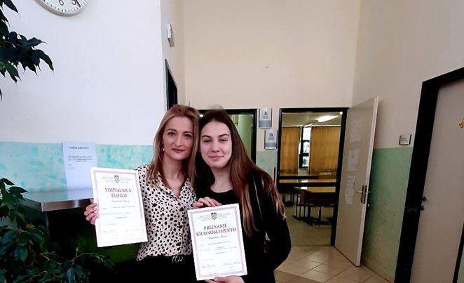 Učenica Magdalena Glavaš iz OŠ V.Nazora Vrsar ostvarila rezultat od 97% na Županijskom natjecanju iz Njemačkog jezika