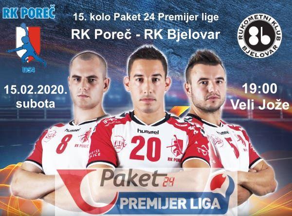Ove subote rukometaši Poreča ugostit će ekipu RK Bjelovar u Velom Joži