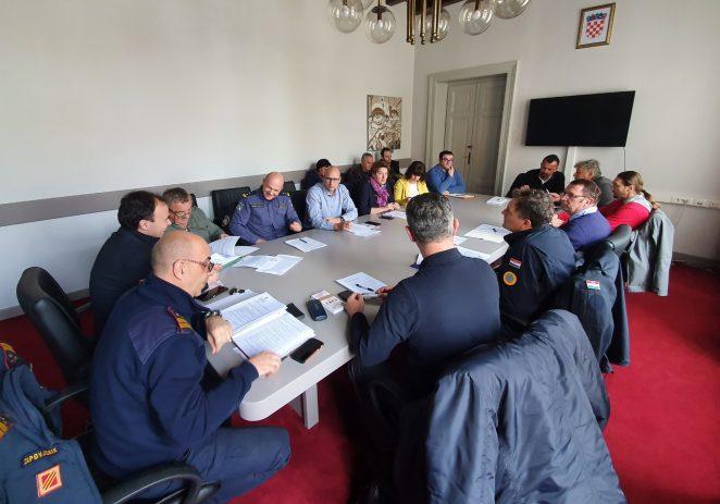 Održana sjednica Stožera civilne zaštite Grada Poreča-Parenzo vezano za pripremu protupožarne sezone