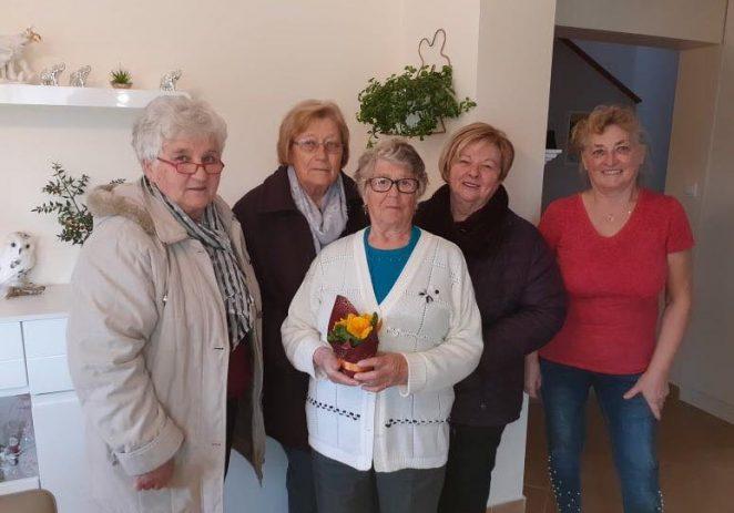 Povodom međunarodnog Dana žena, delegacija Općine Vižinada posjetila žene s područja općine Vižinada starije od 90 godina