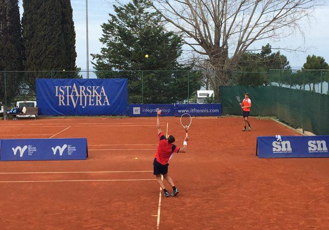 Službeno je počeo glavni dio teniskog turnira Istarska Rivijera, 48. po redu