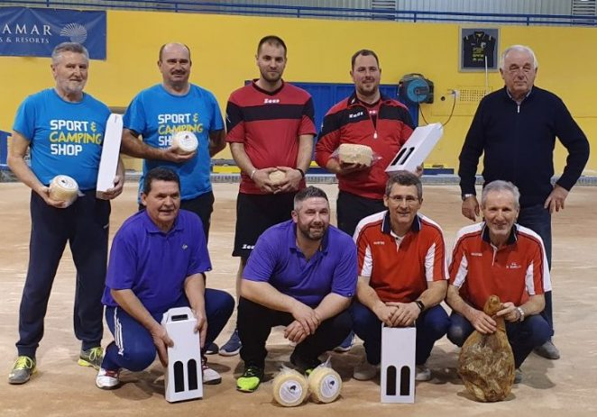 Boćarska zajednica grada Poreča organizirala Otvoreni turnir u parovima