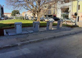 Počinju radovi na postavljanju podzemnih spremnika u ulici G.Caprin, trajat će do kraja mjeseca – uvodi se privremena regulacija prometa !