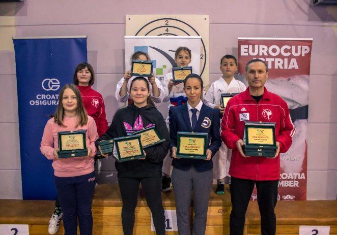 Karate klubu Finida najviše priznanja Karate saveza Istarske županije