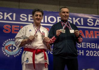 Četiri medalje za Karate klub Finida na Prvenstvu Balkana u Beogradu  za seniore i veterane
