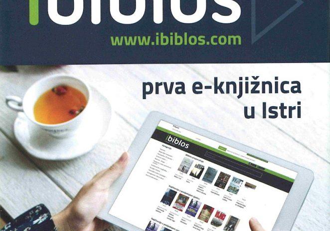 Obavijest za članove Gradske knjižnice Poreč: Čitajte e-knjige putem digitalne platforme iBiblos