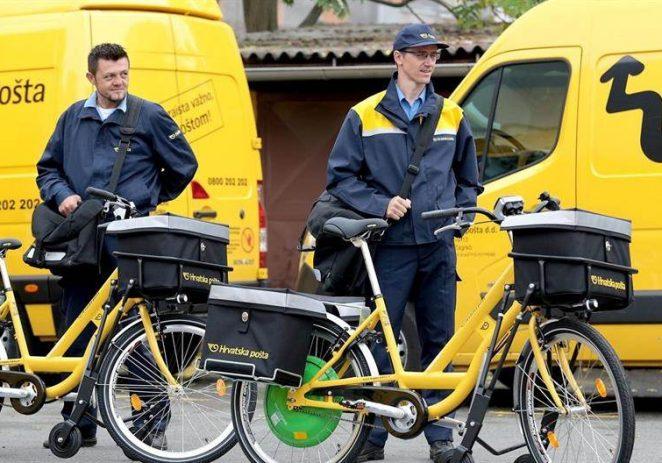 Obavijest: Hrvatska pošta i dalje uručuje isplate socijalne pomoći i mirovina