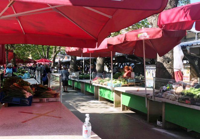 Dobrom organizacijom osigurano je sigurno kupovanje svježih namirnica i na pulskim tržnicama