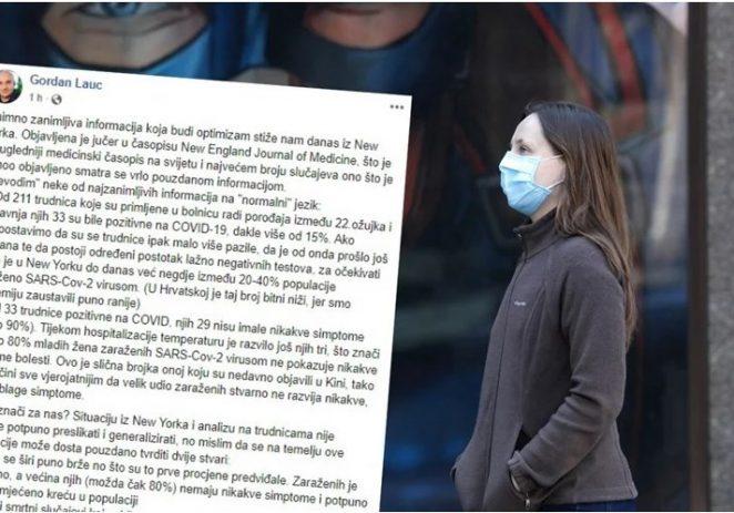 Hrvatski znanstvenik, molekularni biolog Gordan Lauc: većina neće ni znati da su imali koronavirus
