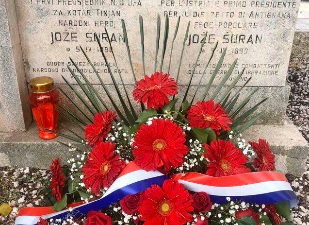 U Višnjanu obilježena obljetnica pogibije Jože Šurana