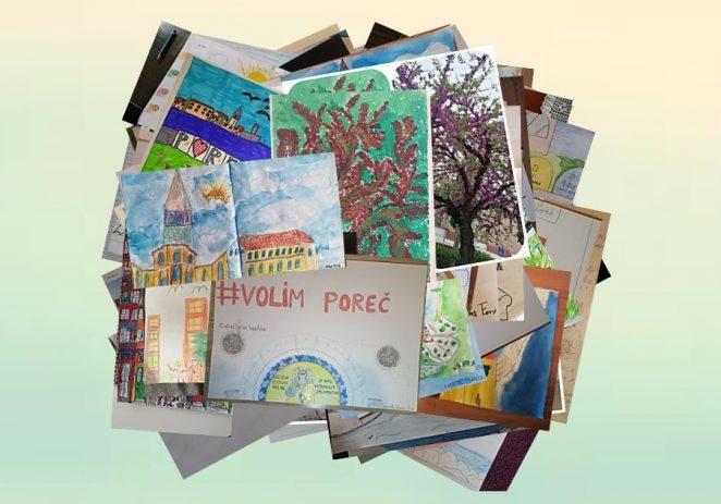 Učenici Osnovne škole Poreč povodom Dana grada postavili online izložbu na temu #Volim Poreč