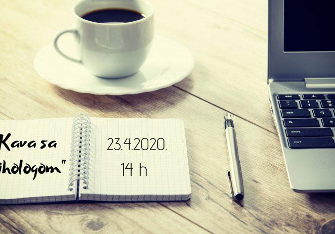 """Volonterski centar Istra organizira webinar """"Kava sa psihologom"""" u četvrtak, 23. travnja !"""