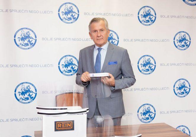 HRVATSKA LIGA PROTIV RAKA ONKOLOŠKIM BOLESNICIMA DARUJE KoronaProtekt VIZIRE
