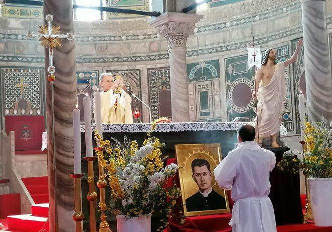 Porečki i pulski biskup mons. Dražen Kutleša predvodio misu Uskrsa u porečkoj katedrali
