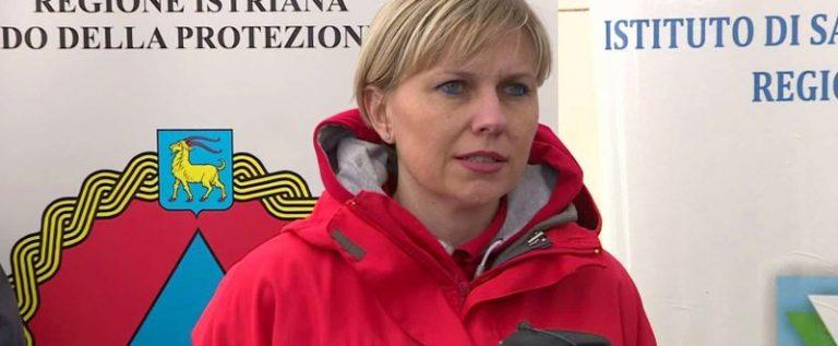 Sandra Stipanov, ravnateljica Društva Crvenog križa Istarske županije