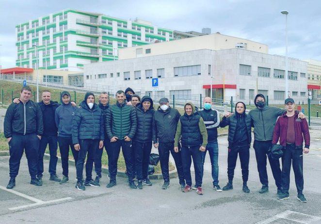 Šajete Boys pomogli u preseljenju pulske bolnice