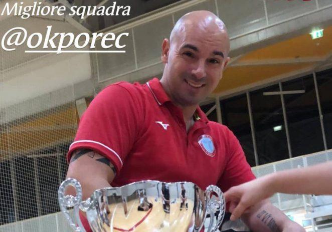 Oproštaj trenera Cristiana Piazzesea sa Odbojkaškim klubom Poreč