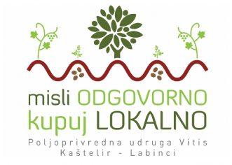 """Poljoprivredna Udruga """"Vitis"""" Kaštelir – Labinci organizira akciju """"Misli odgovorno, kupuj lokalno"""""""