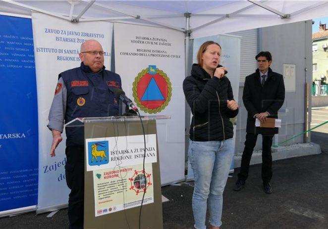 Tri slučaja zaraze koronavirusom u Istri u zadnja dva dana nisu rizik za populaciju