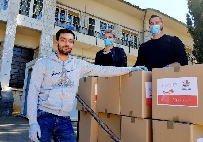 Nova donacija zaštitnih vizira Alena Anušića i Zdravog grada za porečke zdravstvene djelatnike