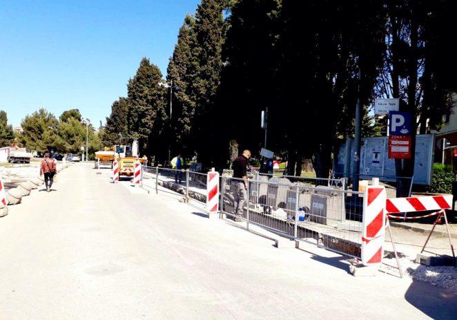 Radovi na vodovodu kroz ulicu Nikole Tesle napreduju, očekivani dovršetak  radova je 15. lipnja