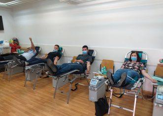Rezultati akcije dobrovoljnog davanja krvi u Poreču, 23. svibnja 2020.
