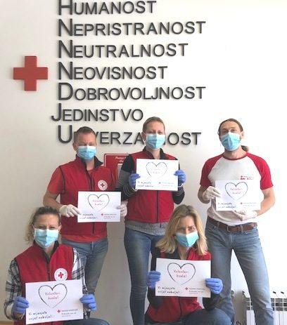 Povodom Svjetskog dana Crvenog križa 8. svibnja  i Tjedna Crvenog križa od 8. – 15. svibnja