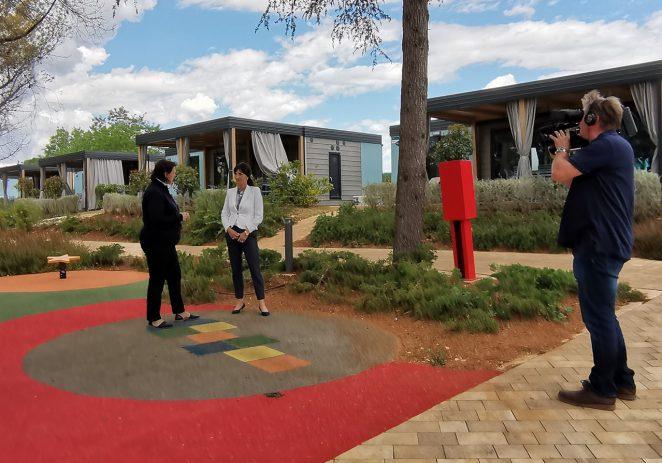 Njemački RTL posjetio Valamarov kamp Lanterna