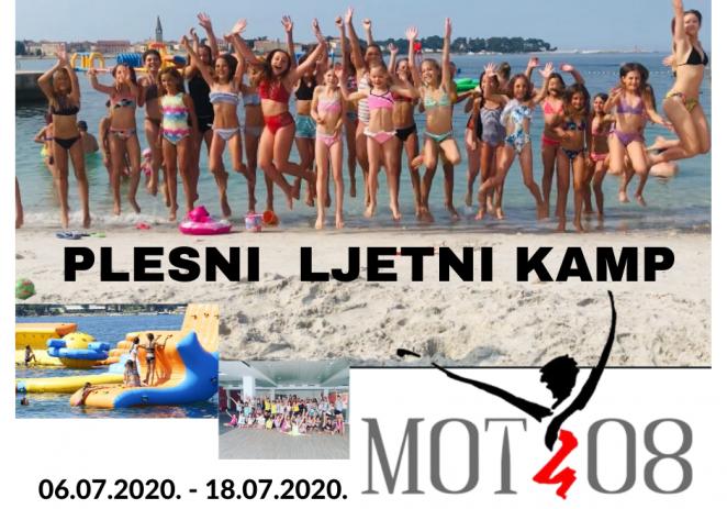Studio za izvedbene umjetnosti MOT 08  i ove godine upisuje djecu od 07-18 godina u plesni ljetni kamp