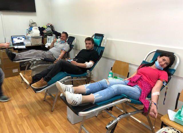 Na jučerašnjoj akciji dobrovoljnog darivanja krvi prikupljeno 69 doza krv