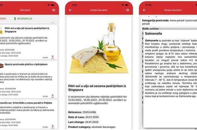 Ministarstvo predstavilo novu aplikaciju za informacije o hrani