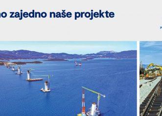 Pokrenuta web platforma za praćenje napretka značajnih projekata prometne infrastrukture na području Republike Hrvatske  www. povezanahrvatska.eu