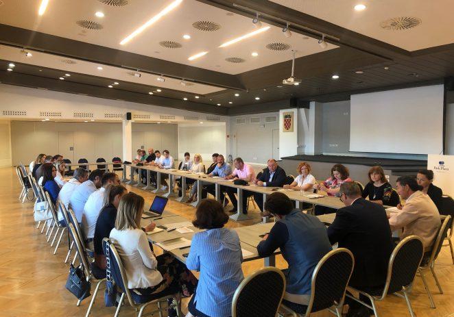 U Puli održan kooridancijski sastanak Hrvatske turističke zajednice i predstavnika turističkih zajednica iz Istre