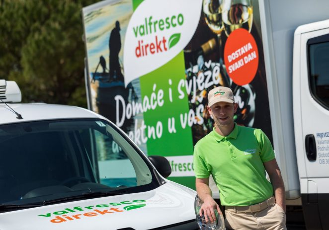 Valfresco Direkt u manje od mjesec dana ostvario gotovo 1900 narudžbi na području Istre