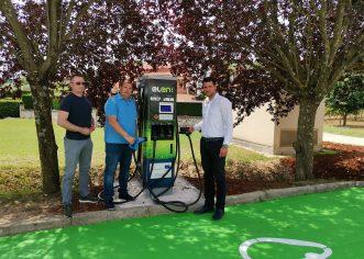 Prva punionica za električna vozila u Općini Vižinada