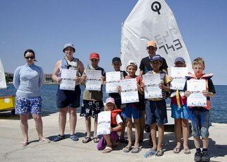 """Jedriličarski klub """"Horizont-Poreč"""" započeo s prijavama za upis djece u školu jedrenja"""