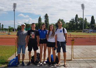 Porečki atletičari AK Maximvs nastupili na Pojedinačnom prvenstvu Hrvatske za juniorke i juniore