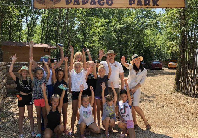 Porečke ritmičarke posjetile Papago park Croatia