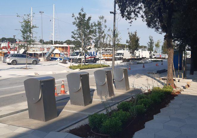 U funkciji novi podzemni spremnici za odlaganje otpada na području starogradske jezgre Poreča