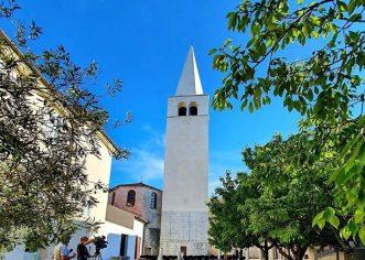 Jučer i službeno dovršeni radovi na obnovi zvonika Eufrazijeve bazilike u Poreču