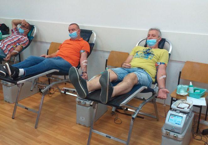 U utorak održana još jedna akcija dobrovoljnog davanja krvi