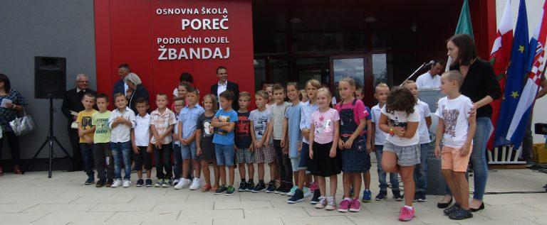 Otvorenje škole u Žbandaju 2017