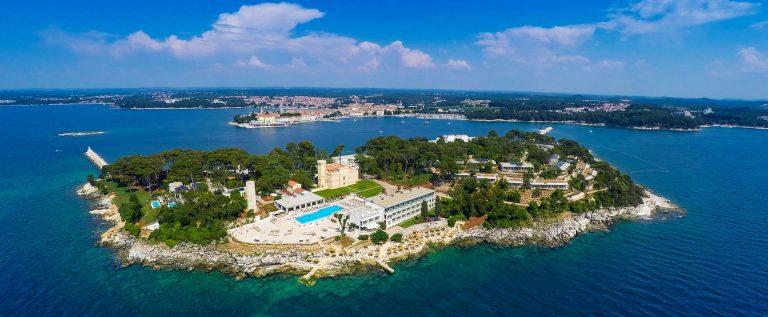Valamar Collection Isabella Island Resort_air view