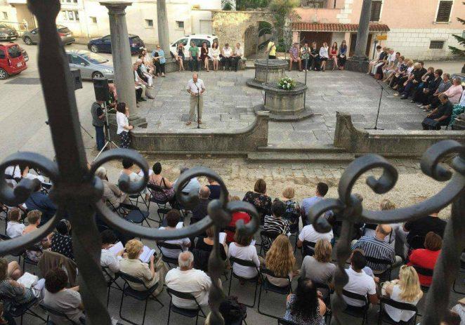 XXVII. Susret čakavskih pjesnika – VERŠI NA ŠTERNI u subotu, 12. rujna 2020. u Vižinadi na Battistellinoj šterni