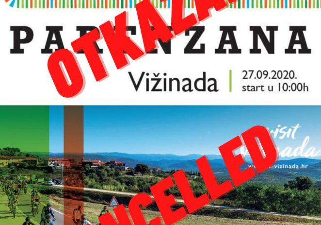 Uprkos povoljnoj epidemiološkoj situaciji u Istri otkazana je još jedna manifestacija – Parenzana, rekreativni biciklistički maraton