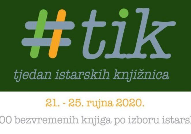 Tjedan istarskih knjižnica od 21. do 25. rujna