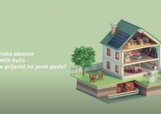 Počele prijave građana za sufinanciranje obnove kuća